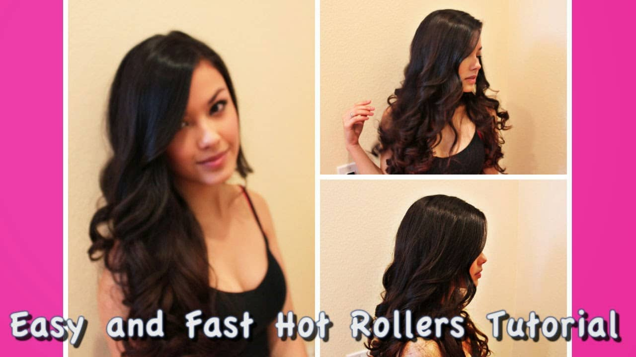 Morgan Alison Stewart Fast and Easy Bombshell Hot Rollers Hair