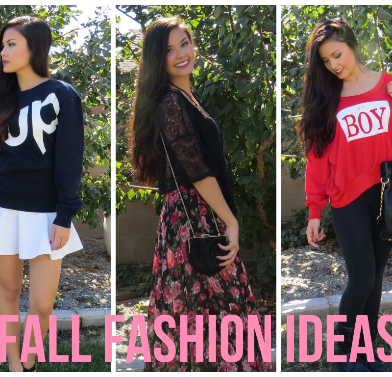 3 Fall Fashion Outfit Ideas ft. ToFebruary