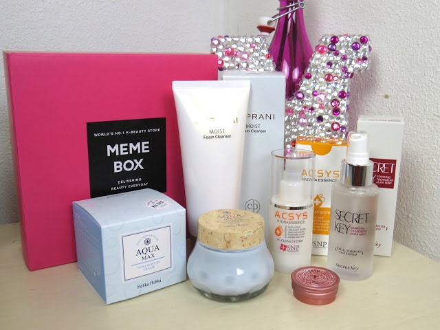 memebox intense hydration box