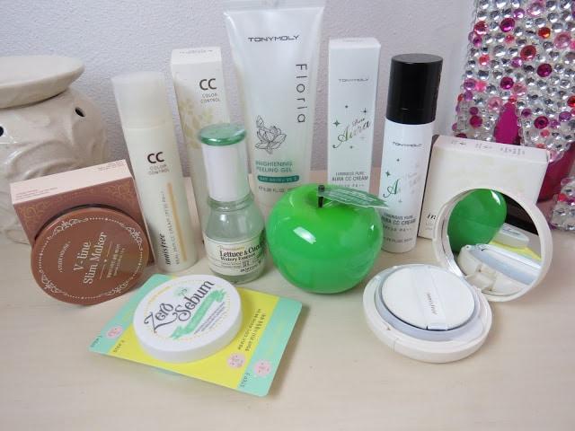 korean skin care haul
