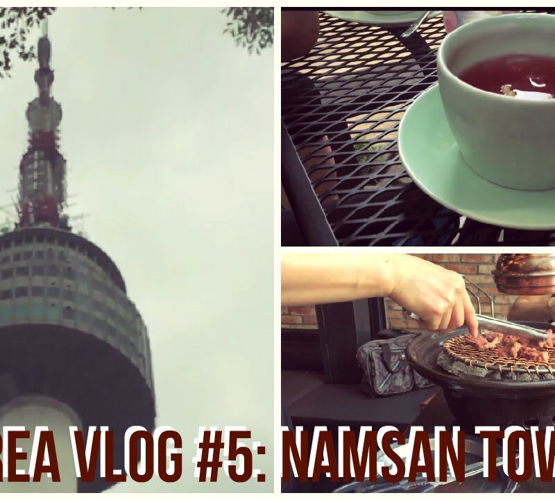 THE TRAVEL BREAKDOWN VISITING NAMSAN TOWER