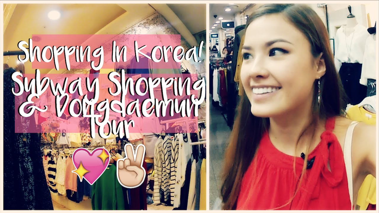 SHOPPING IN SEOUL, KOREA - A GUIDE FROM SHOPPING IN THE EXPRESS BUS TERMINAL UNDERGROUND SHOPPING THE TRAVEL BREAKDOWN