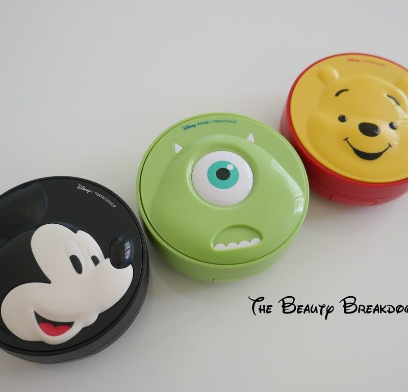 [HAUL] New The Face Shop Disney Collection Haul, Review and Demo
