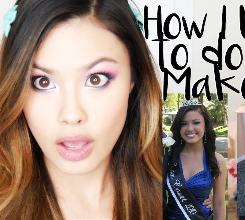 How I Used to do my Makeup in High School + School Tips