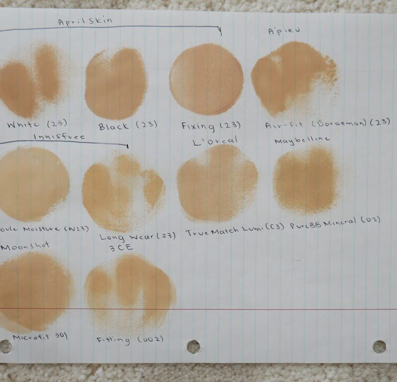 The Ultimate Cushion Foundation Guide, Review, and Comparison…32 Different Cushions!