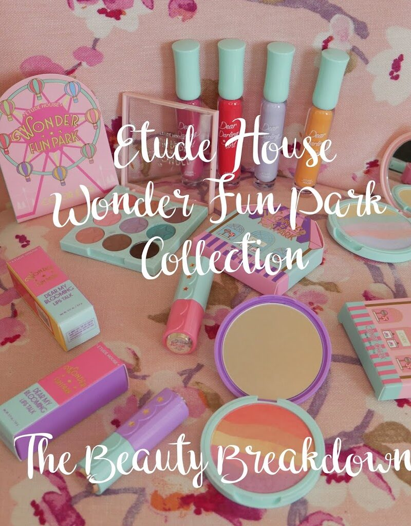 New Etude House Wonder Fun Park Collection Haul & Review
