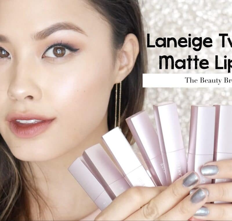 Laneige Two Tone Matte Lip Bar Swatches