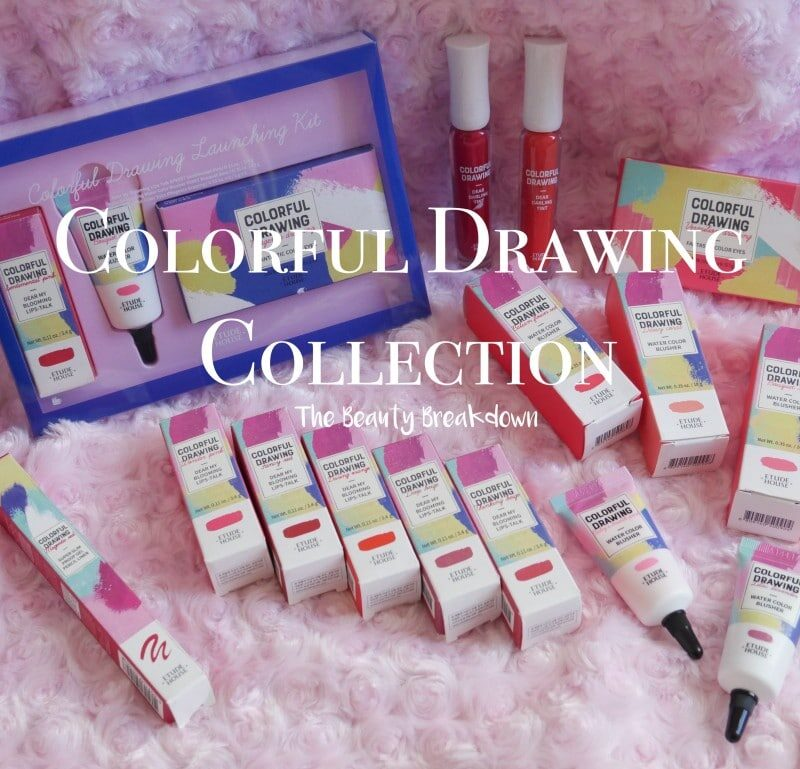 Etude House Colorful Drawing Spring 2018 Collection